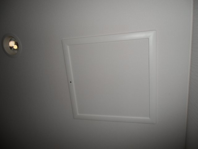 天井の点検口