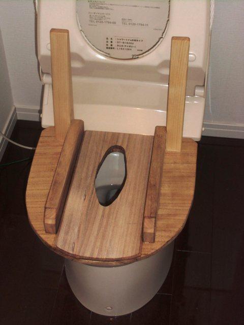 トイレにセット