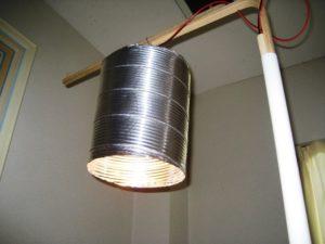 ランプは今どきエコじゃない白熱球