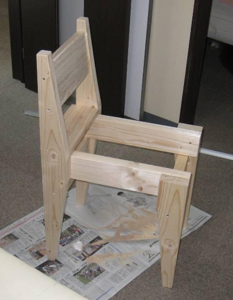 自分用にフラット座面の椅子が欲しい
