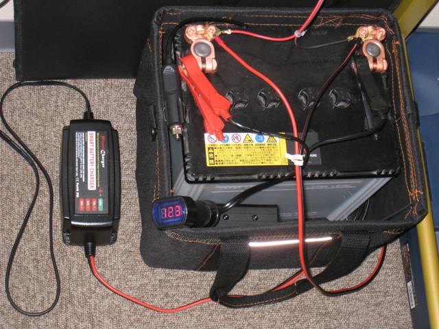 カーバッテリーを使っても、AM受信には難が
