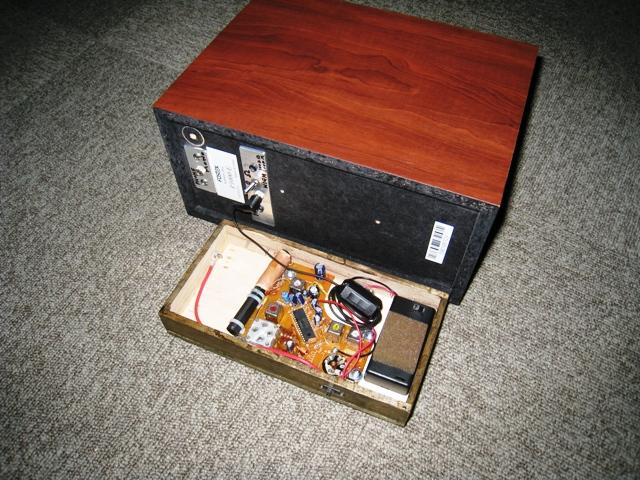 FOSTEX スピーカーボックス P1000-E をラジオに