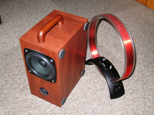 ラジオとMW(中波)用ループアンテナ