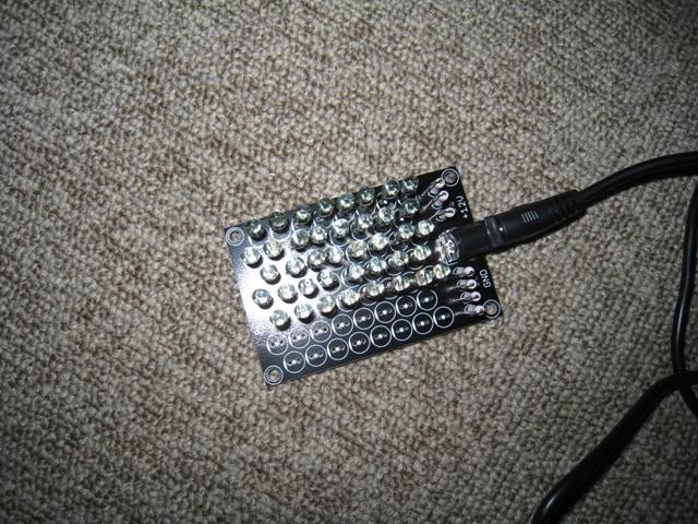 赤外線LED点灯テスト